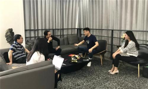 中国发明协会领导考察洛可可创新设计集团