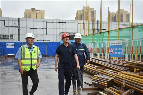 任其勇一行考察潍坊坊子建筑工程领域发展情况