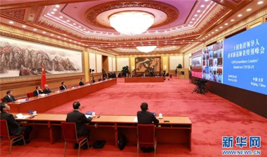 全球抗疫合作中的中国力量